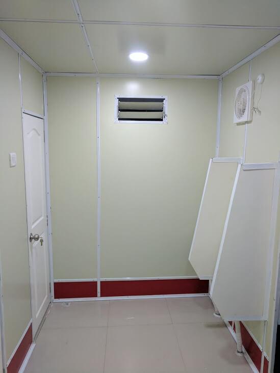 Toilet complex 6